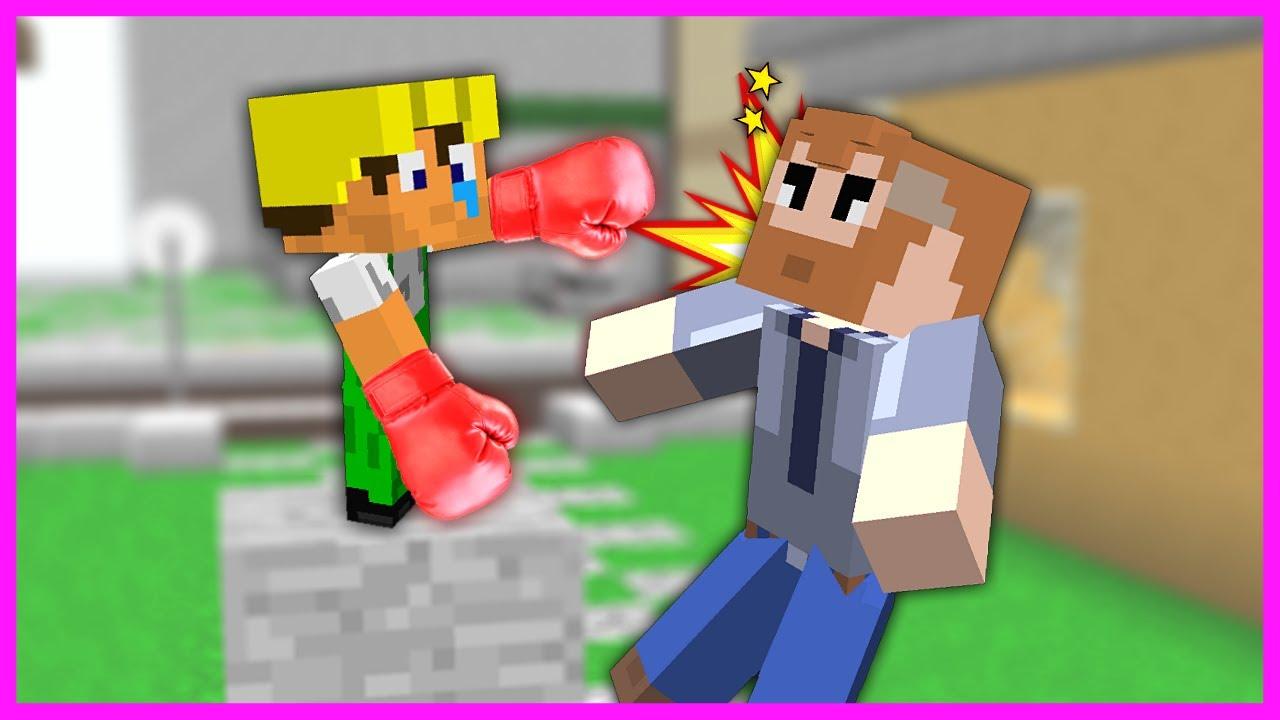 BEBEK İŞÇİ PATRONU DÖVÜYOR! 😱 - Minecraft