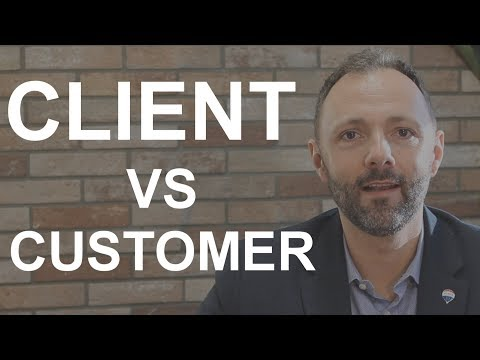 Client vs Customer Status - Common Law Brokerage, Edmonton, AB. (short)