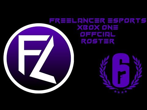 FreeLancer Esports official 2018 Xbox One Siege Roster