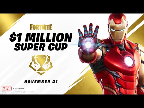 EVENT COUNTDOWN!! Mythic $1,000,000 Super Cup! (Fortnite Battle Royale)