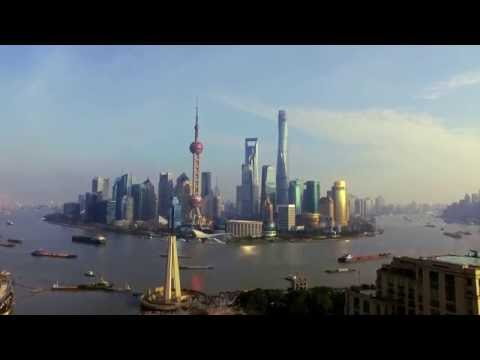 DJI - Shanghai Skyline Aerial Footage