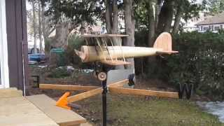 Weathervane Biplane