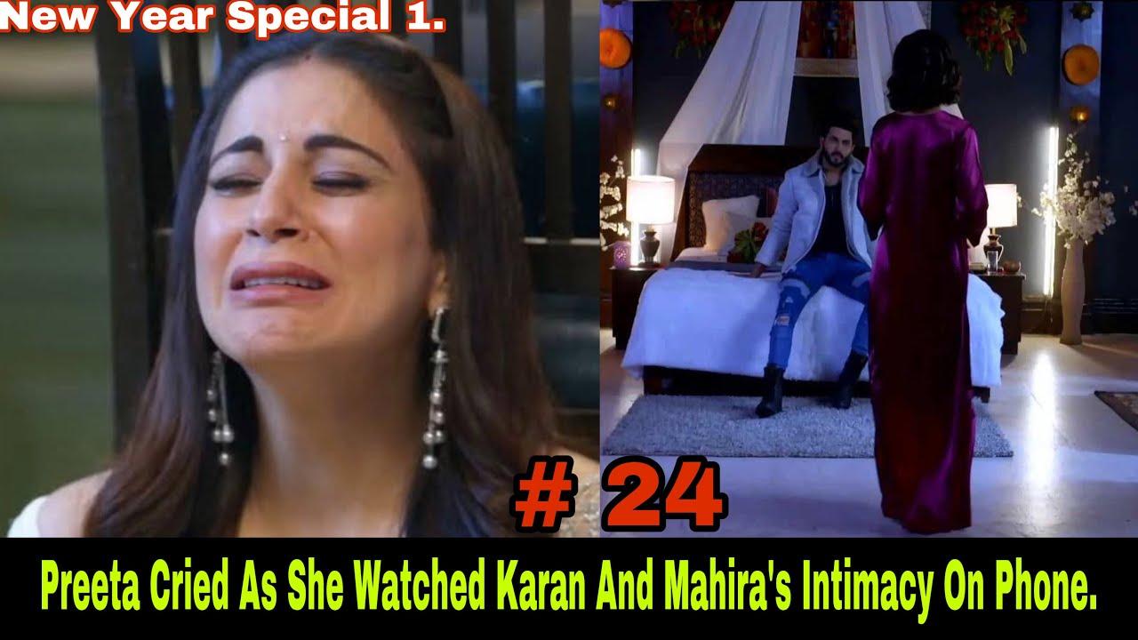 Download Sherlyn Forced Preeta To Watch The Video Of Karan And Mahira Getting Intimate And Preeta Cried.