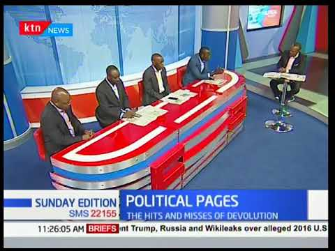 Political Pages: Mpesa and idle land to be targeted in a bid to raise tax revenue by the government