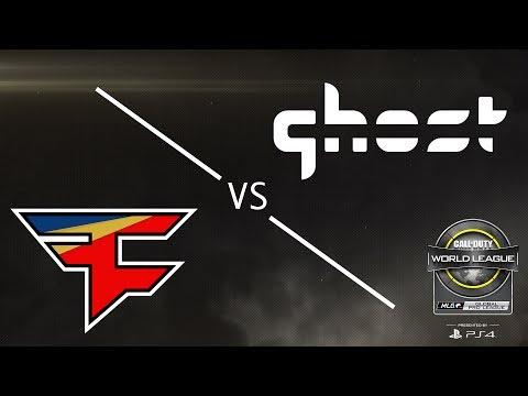 FaZe Clan vs Ghost Gaming - CWL Global Pro League Stage 2 - Group Blue - Day 1
