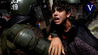 Los estudiantes chilenos contra las clases presenciales