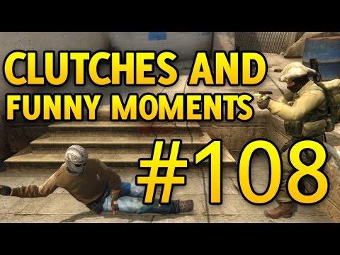CS GO Funny Moments and Clutches #108 CSGO
