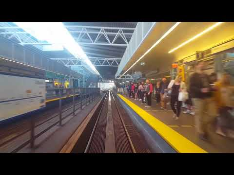 Skytrain first person Expo line Vancouver