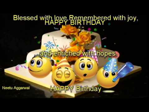 Happy Birthday Wishes With Beautiful Message ''N'' Pics