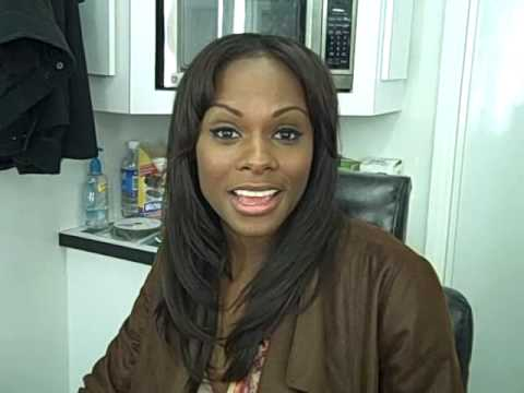 Tika Sumpter Natural Hair
