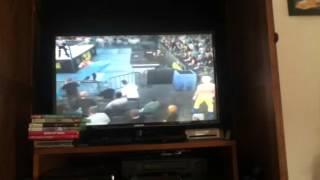 WWE 2K16-Into the Crowd Glitch (XBOX360)
