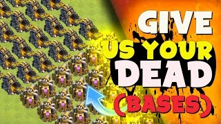 "Clash of Clans: ""100% BEST FARMING RANGE In Clash?"" The Quest For The HOLY GRAIL Begins"