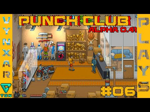 Punch club (Ex VHS story) - Street Random Encounter, leagues rework - Alpha 0.41 - #06