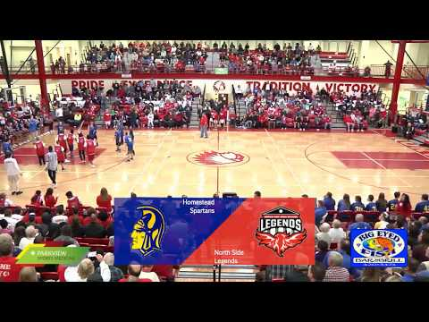 Homestead at North Side | IHSAA SAC Boys Basketball