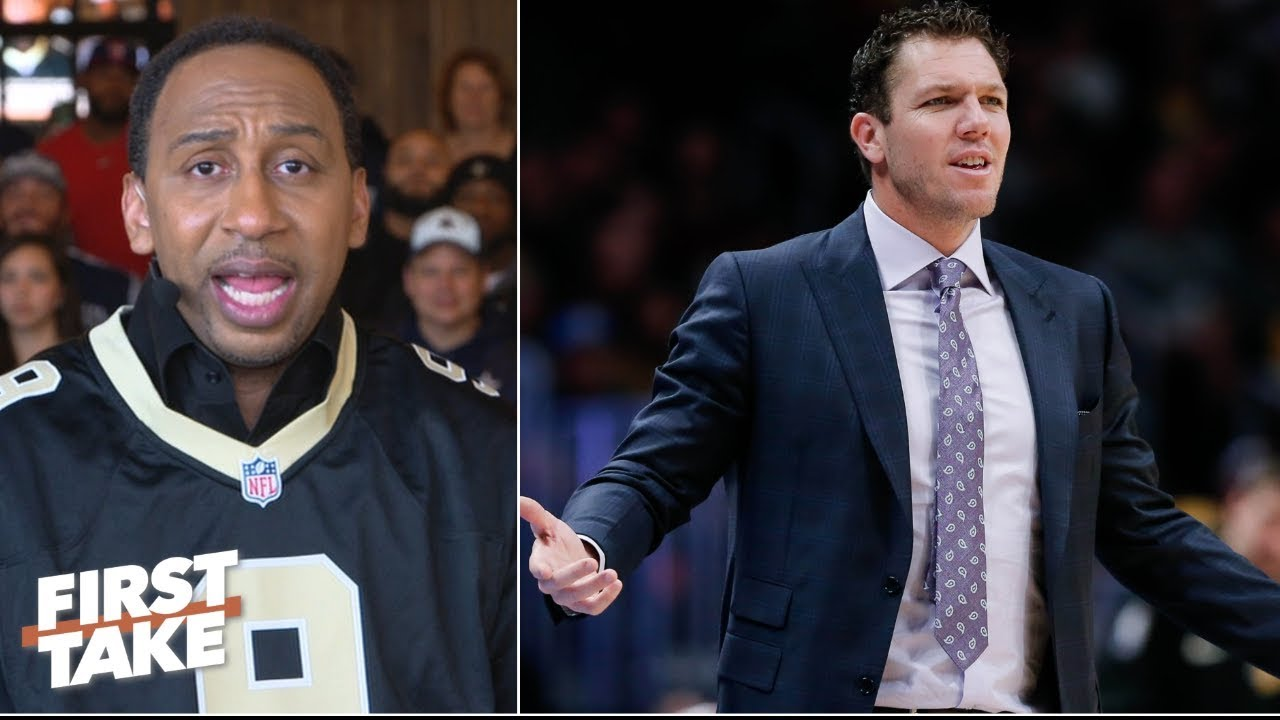 7a3c169fe51 Will Magic Johnson intervene if LeBron James keeps ignoring Luke Walton? |  First Take. ESPN
