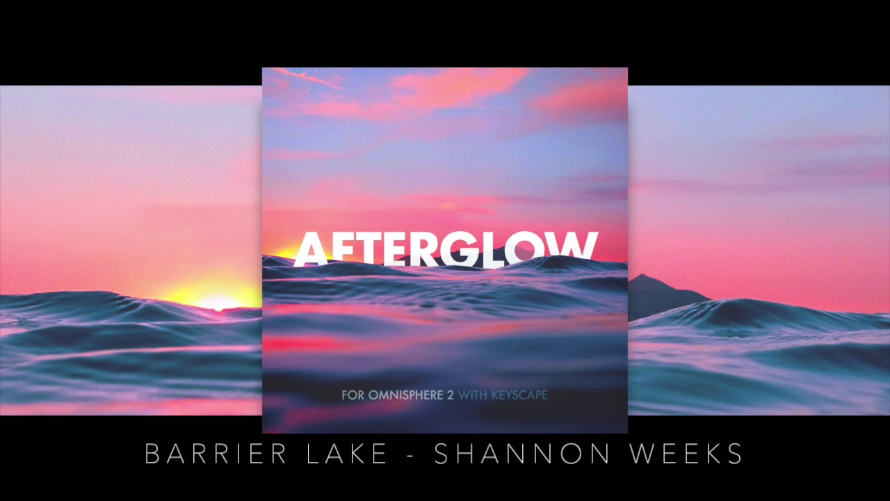 Barrier Lake - Afterglow - Shannon Weeks