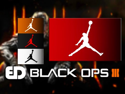 wholesale dealer c7e1c 5e1f8 Black Ops 3  AIR JORDAN JUMPMAN Emblem Tutorial (Emblem Attack 3) - YouTube