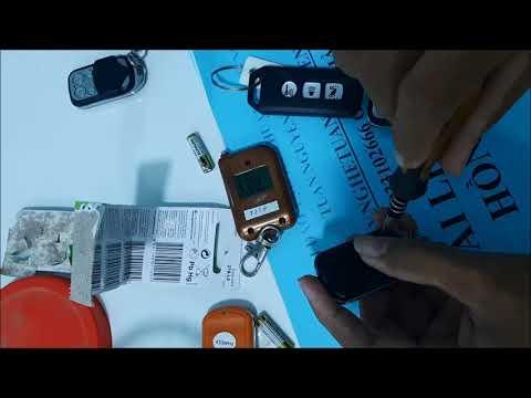 Hướng dẫn sửa thay pin remote ô tô- cửa cuốn