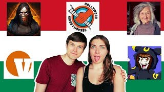 SPEAKING HUNGARIAN PART 17 🇭🇺REACTING TO HUNGARIAN YOUTUBERS!