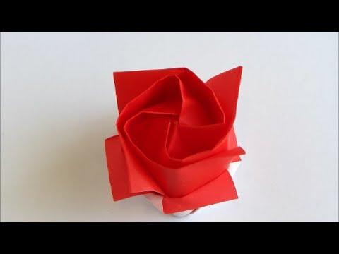 Origami Kawasaki Rose Version 2