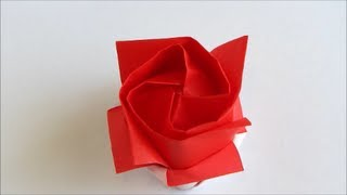 Origami Kawasaki Rose Version 2