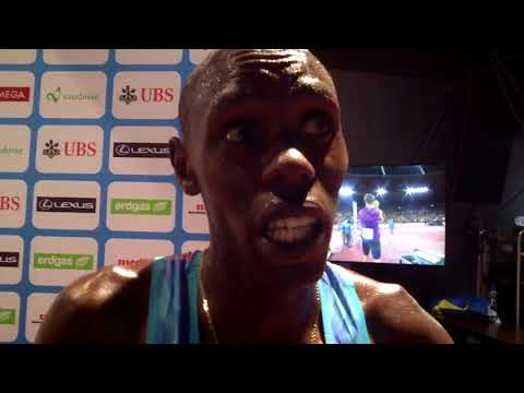 Paul Chelimo talks about the crazy 5k finish at 2017 Weltklasse Zurich