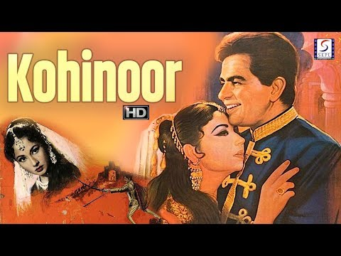Kohinoor - Dilip Kumar, Meena Kumari - Romantic Drama Movie - HD - B&W