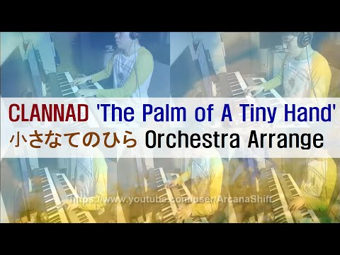 Clannad 'The Palm of A Tiny Hand' (Small Palm) Piano and Orchestra   クラナド小さなてのひら