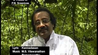 Nilave Ennidam Nerungathe  A Tribute to P B Sreenivas by J M Raju