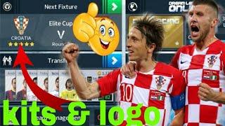 How to Create Croatia National Team Kits & Logo | Dream League Soccer 2018