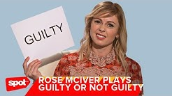 Rose McIver Plays Guilty or Not Guilty