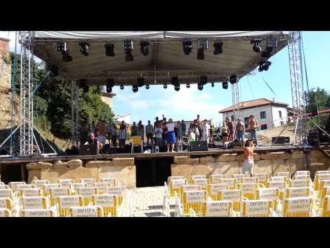 VivaVox rehersal @ Ohrid Summer Festival 2013