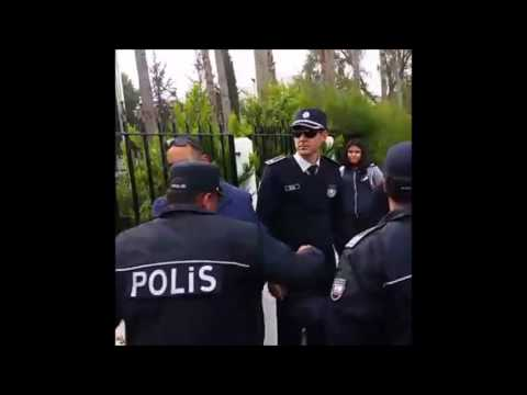 Öğrencilerin Eyleminde Polis Gözyaşlarına Hakim Olamadı