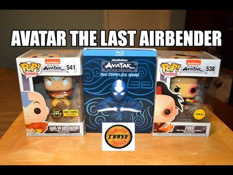 Funko Pop AVATAR THE LAST AIRBENDER AANG AIRSCOOTER & ZUKO CHASE Figures! Hot Topic GLOW Exclusive