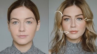 How to Create Naturally Larger Features (Eyes, Lips, Brows e...