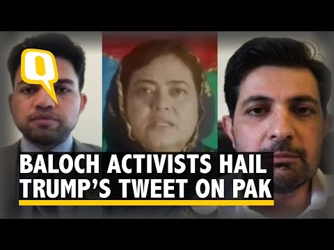 Baloch Activists Laud Trump's Tweet Slamming Pakistan | The Quint