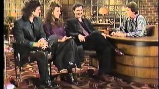 Frank, Moon & Dweezil Zappa - Nite Life Interview 1986