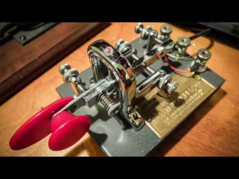 Vibroplex Vibrokeyer Morse Key