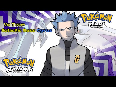 Pokemon Diamond/Pearl/Platinum - Battle! Team Galactic Boss Music (HQ)