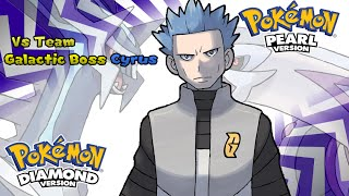 Repeat youtube video Pokemon Diamond/Pearl/Platinum - Battle! Team Galactic Boss Music (HQ)