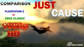 Just Cause: PLAYSTATION 2 vs XBOX ORIGINAL