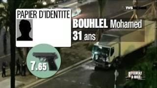 Attentat de Nice - Les informations sur le chauffeur