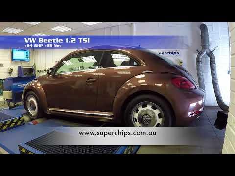 Volkswagen Beetle 1.2 TSI ECU Tune from Superchips Australia