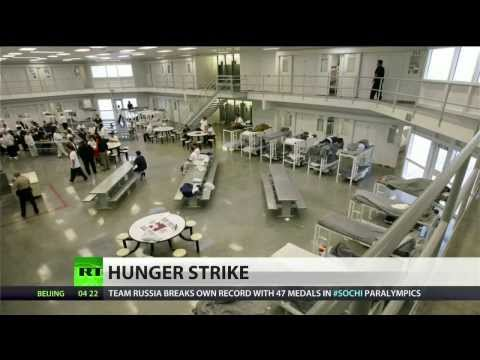 Detained Immigrants on hunger strike despite threats of force feeding