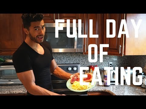 Full Day of Eating TO GAIN Weight!