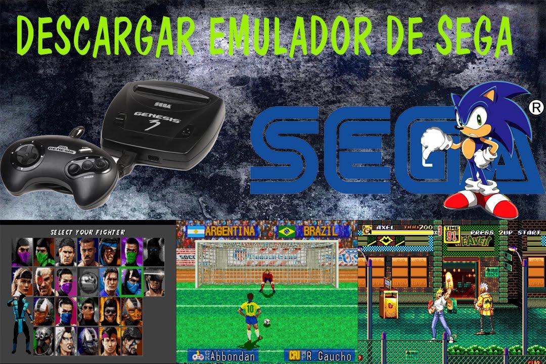 Descargar Emulador De Sega Para Pc Y Un Pack De Roms Youtube
