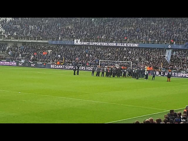 2018-2019 - Club Brugge-Antwerp - Afscheid Ivan Leko