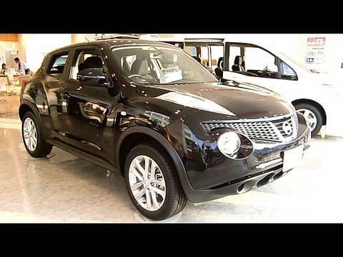 black Nissan JUKE - new CrossOver SUV - YouTube