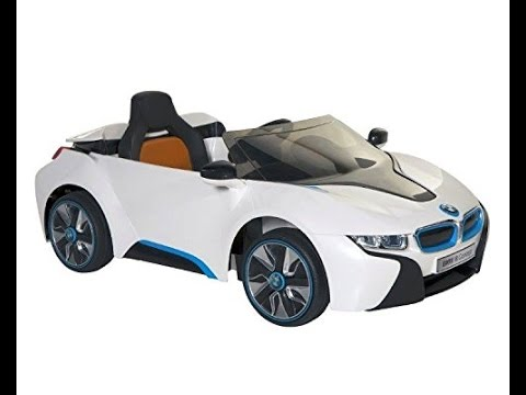 Power Wheels Bmw I8 Concept 6 Volt Electric Ride On Car For Kids