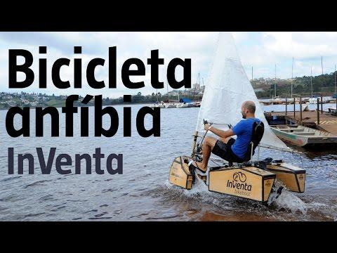 Arquiteto Cria Bicicleta Que Pedala Até Na água; Veja!